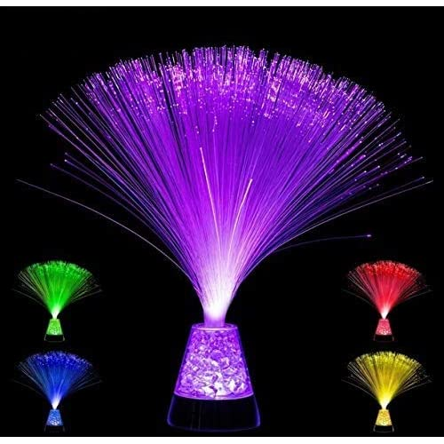 Playlearn Fiber Optic Lamp Color, Battery Lava Lamp Centerpieces