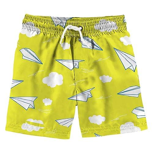 8e2c5031ac Uideazone Boys 3D Printed Funny Swim Trunks Quick Dry Beachwear Sports  Running Swim Board Shorts
