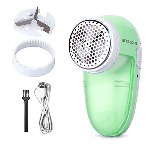 Fabric Shaver Electric Sweater Defuzzer Rechargeable Lint Remover Bobbles