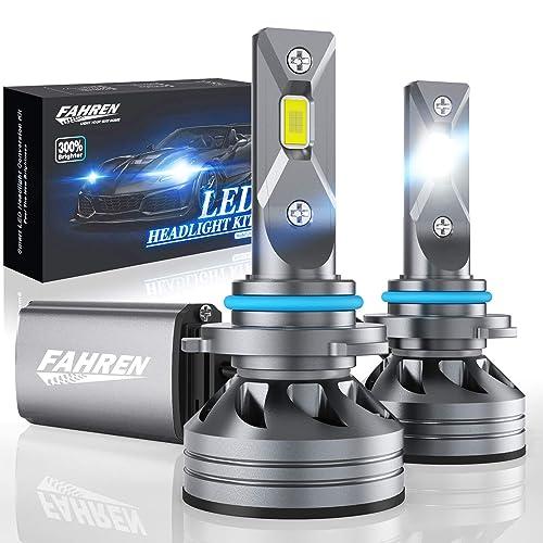 80W 9005 LED Headlight Bulbs 16000 Lumens Per Pair Headlight Lamp Conversion Kit Low Beam//Fog Light 300/% Super Bright 6000K Bright White Pack of 2