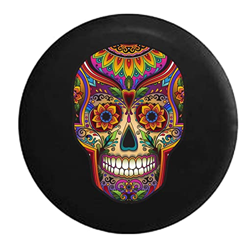 Dead Men Tell No Tales Pirate Skull /& Crossbones Sea Compass Spare Tire Cover Black 26-27.5 in