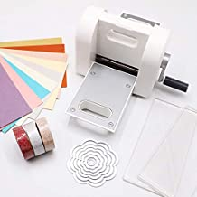 Fabric and Other Materials. 9 Opening Bira Craft Adjustable Die Cutting /& Embossing Machine Starter KIT Paper