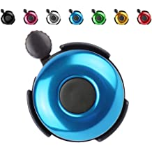 7 Colors SIKAF MALL Classic Aluminum Bicycle Bell Bike Bell for Adults Kids