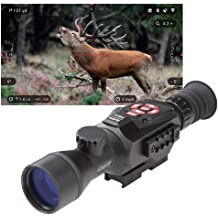 Bluetooth and Wi-Fi Streaming, Gallery /& Controls Smooth Zoom theOpticGuru ATN Thor 4 Thermal Scope w//Video rec in HD