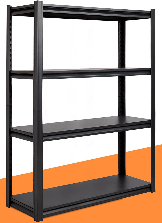 Buy Raybee Metal Shelves for Garage Storage Heavy Duty Shelving ...