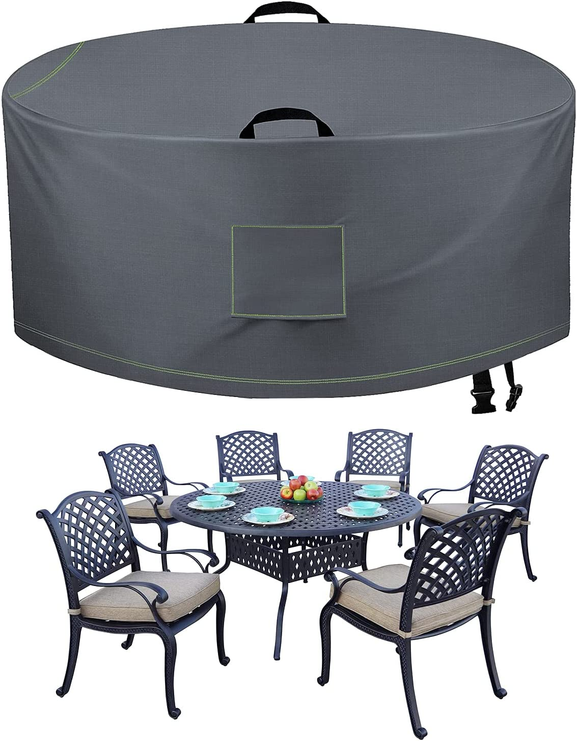 Buy TAOCOCO Outdoor Patio Furniture Covers, 9D Waterproof Table ...