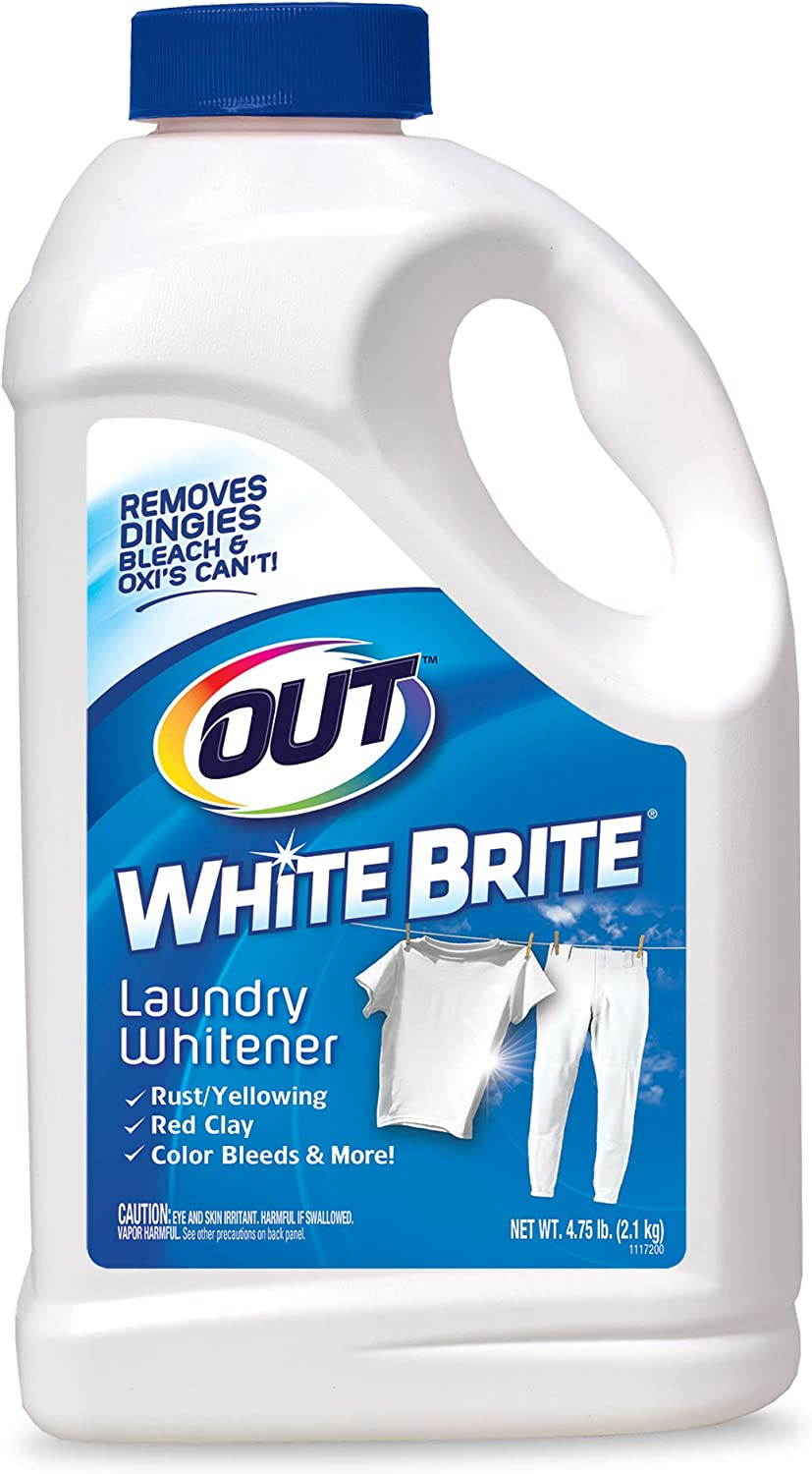 Buy OUT White Brite Laundry Whitener, Removes Red Clay, Perfect ...