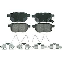 Wagner QuickStop ZD975 Ceramic Disc Pad Set Includes Pad Installation Hardware Rear