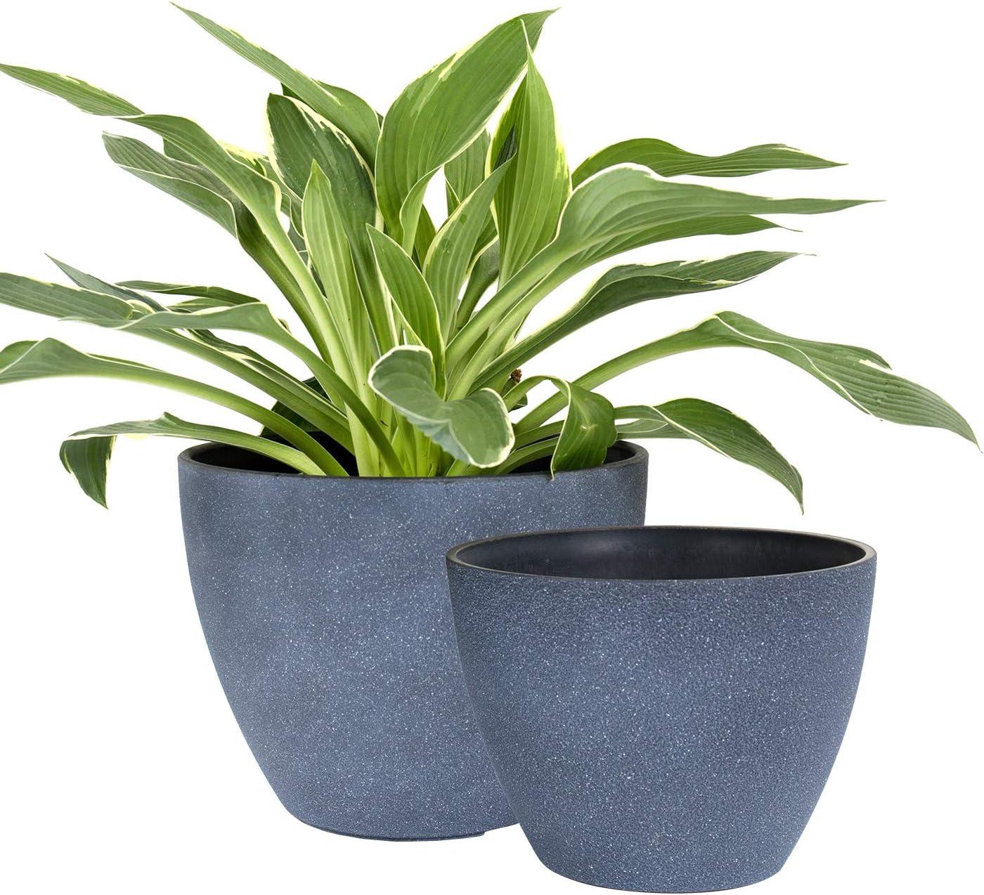 La Jolie Muse Flower Pots Outdoor, Outdoor Garden Pots And Planters Uk