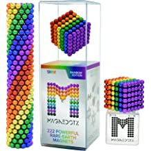 HOMOFY Magnetic Balls Multicolored Magnets Sculpture Building Blocks Toys for Boys /& Girls Adults Magnet Toys Magnetic Balls Stress Relief /& Creative Inspiration Office Toys