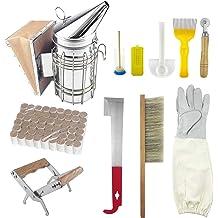 Beekeeping Starter Equipment Kit Bee Smoker Frame Holder Brush Hive Tools 14PCS