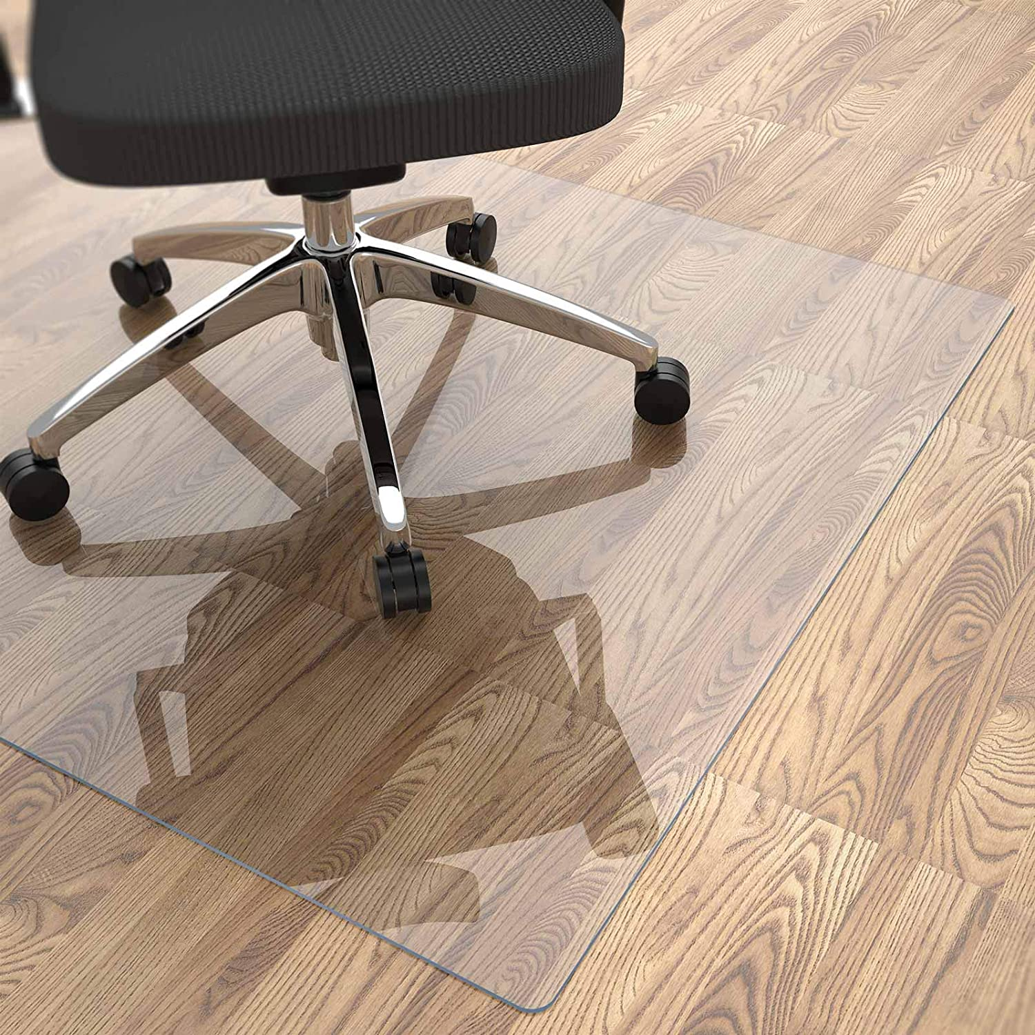 Office Chair Mat For Hardwood Floor 48, How To Protect Laminate Flooring From Chairs