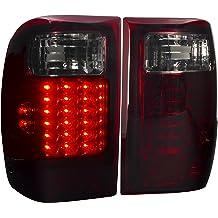 F350 F-350 Chrome Housing Clear Lens F250 F-250 AJP Distributors LED 3rd Third Brake Stop Light Lamp For 1992 1993 1994 1995 1996 92 93 94 95 96 Ford Bronco F150 F-150