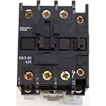 New GE Miniature Din Rail Magnetic Contactor CR6CAJ3B 48VAC Coil CA4-5-01-48 1NC